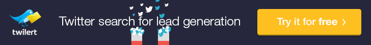 Lead Generation with Twitter Search and Twilert
