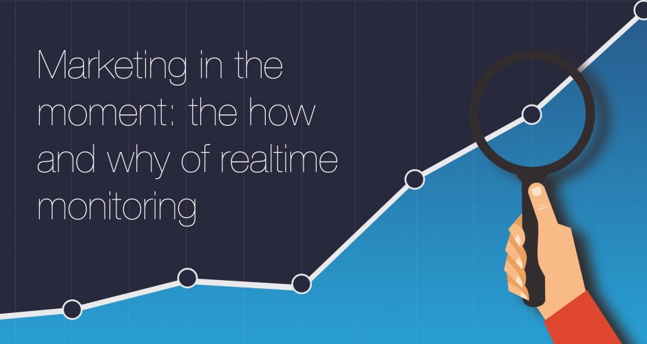 Marketing in the moment: the how and why of realtime monitoring