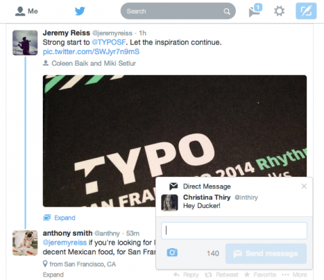 Twitter's new realtime notification feature