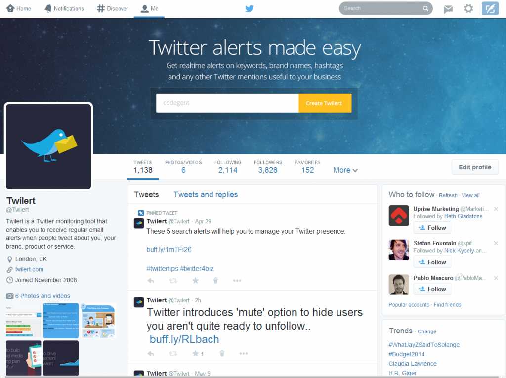 Twitter changes the size of its header image