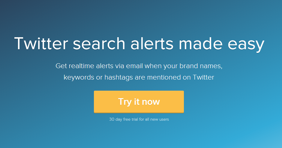 Changes to the Twitter monitoring tool Twilert