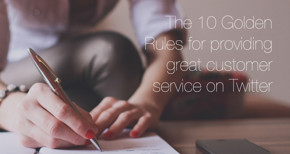 Golden Rules for Providing Great Customer Service on Twitter