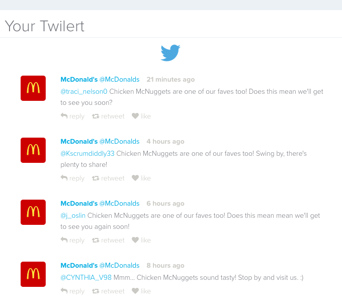 how to find all tweets sent from a user