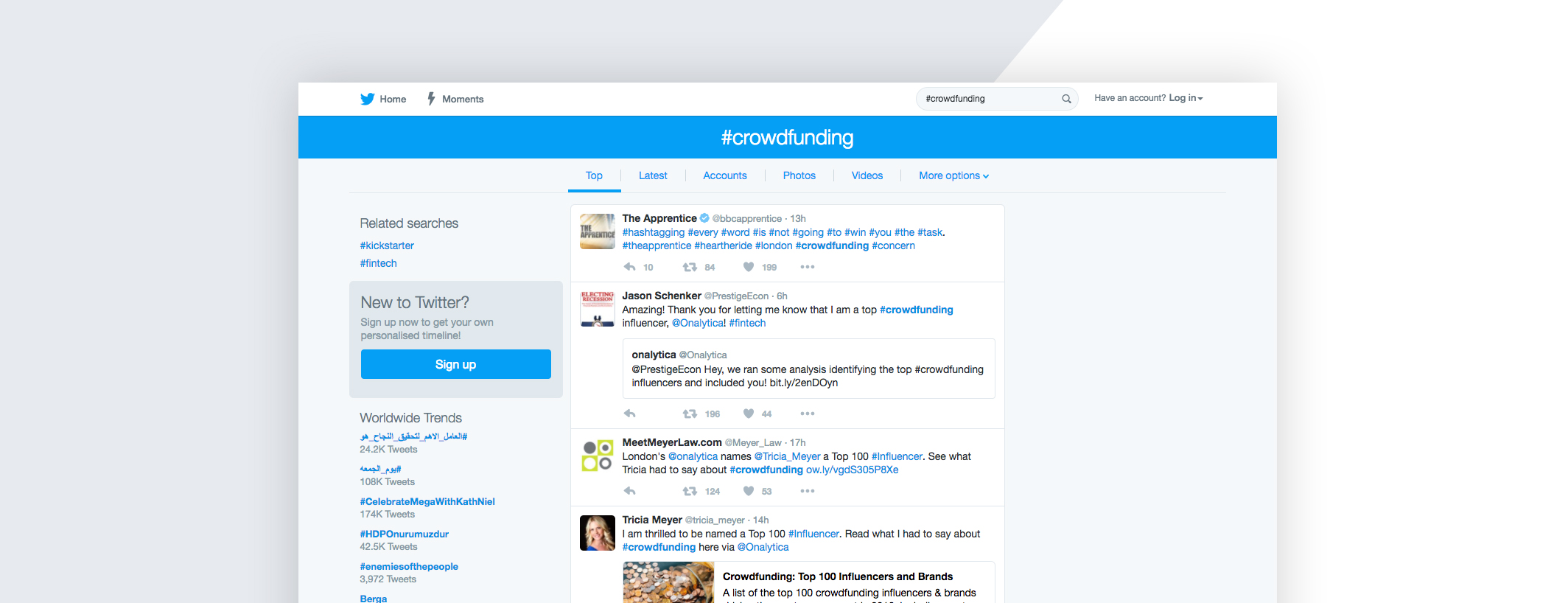 Twitter search operators to find leads for your business