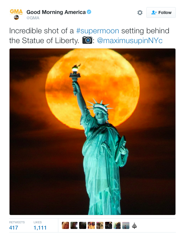 US super moon