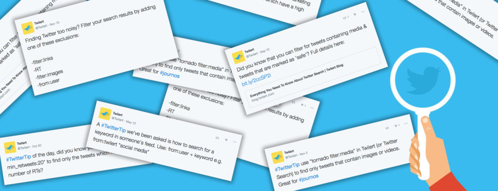 How to find blog topics using Twitter