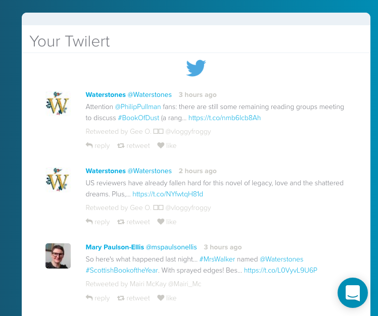 search for tweets mentioning a user