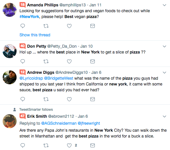 search Twitter by location